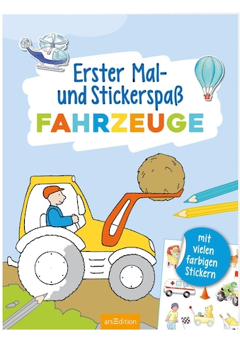 Buch »Erster Mal- und Stickerspaß Fahrzeuge / Corina Beurenmeister« kaufen