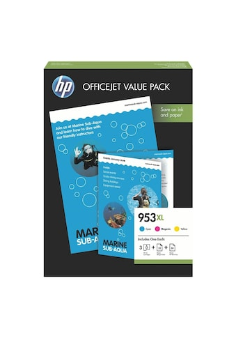 HP Office Value Pack: Tintenpatronen-Set + AIO Papier + Prof. IJ Pa kaufen