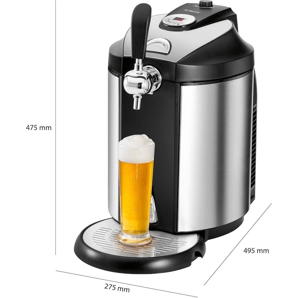 BOMANN Bierzapfanlage »BZ 6029 CB«, für alle handelsüblichen 5 Liter-Partyfässer