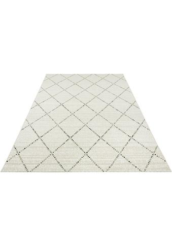 bougari Teppich »Balos«, rechteckig, 8 mm Höhe, Rauten Design, In- und Outdoor... kaufen
