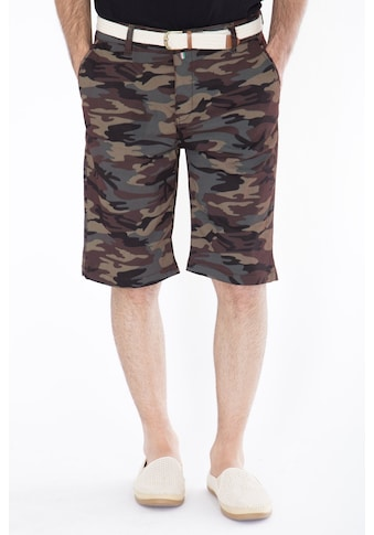 Daniel Daaf Shorts, mit Tarnmuster inkl. Flechtgürtel kaufen