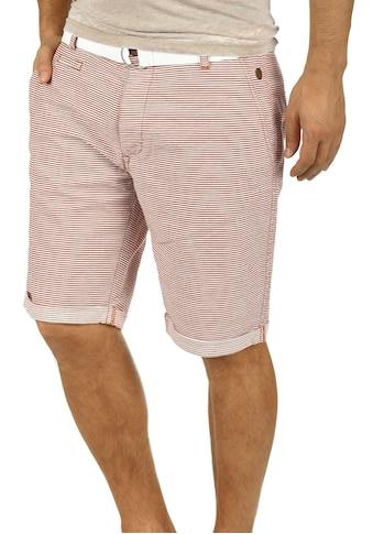 Blend Chinoshorts »Quantigo«, kurze Hose mit Gürtel kaufen