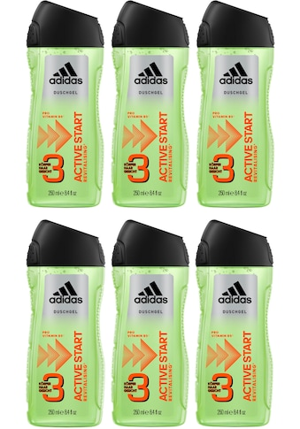 "adidas Performance Duschgel ""Active Start 3in1"", Spar - Set 6 - tlg. kaufen"