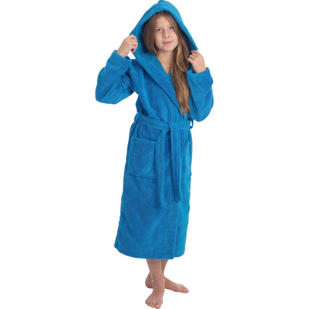 Wewo fashion Kinderbademantel »8514«, mit kuscheliger Kapuze