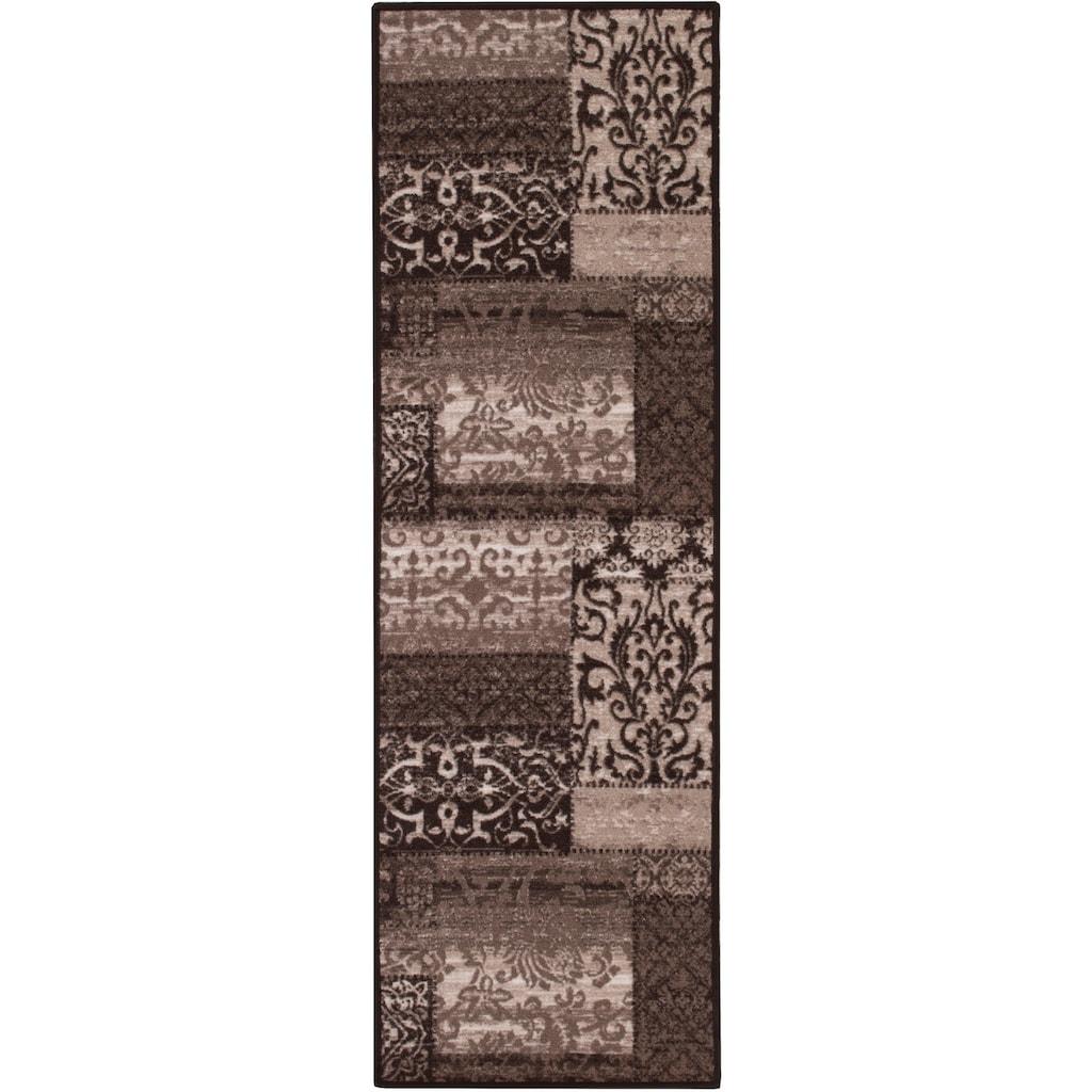 Andiamo Bettumrandung »Jarama«, Bettvorleger, Läufer-Set für das Schlafzimmer, Kurzflor, Vintage-Optik