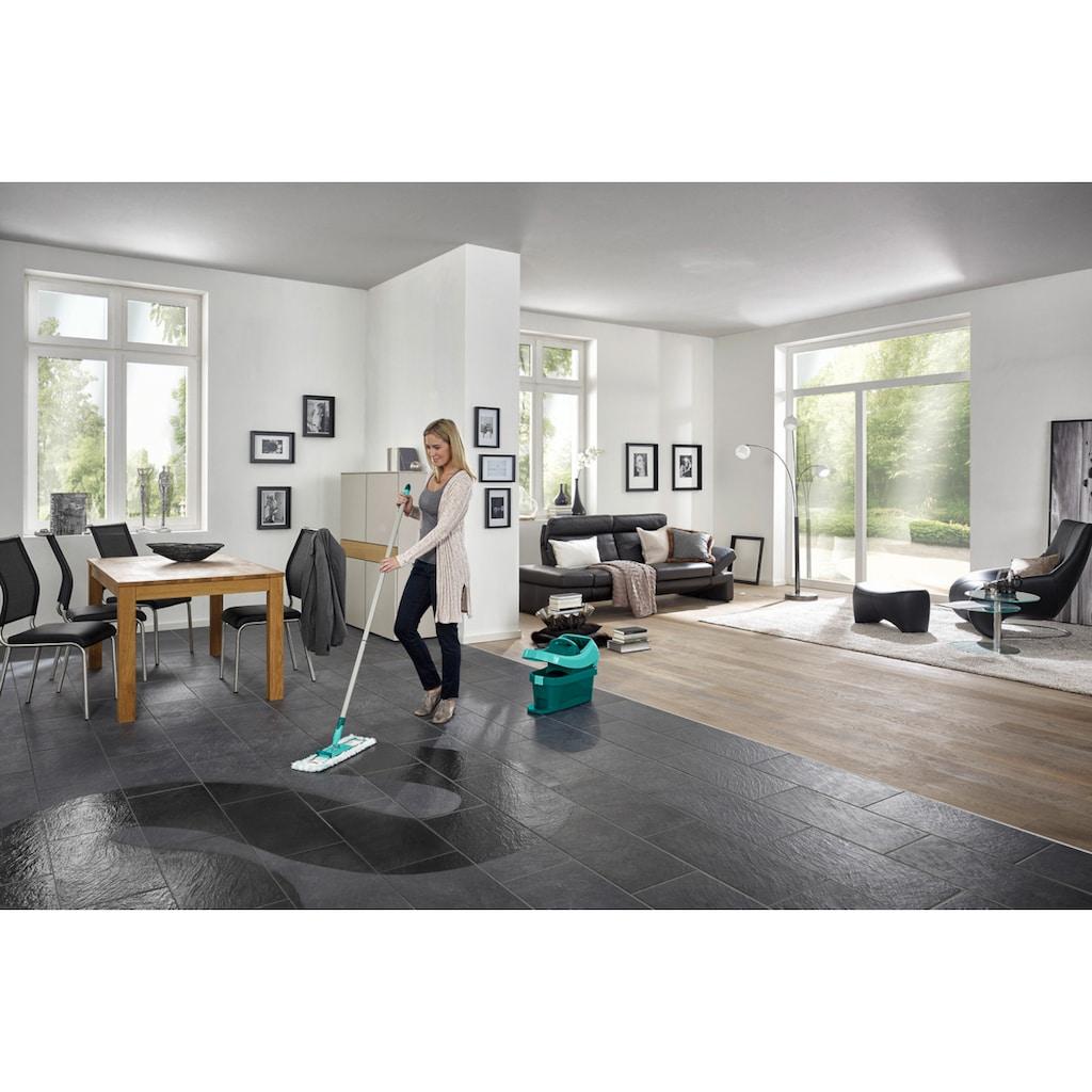 Leifheit Bodenwischer-Set »Wischtuchpresse Profi XL mit Rollen«