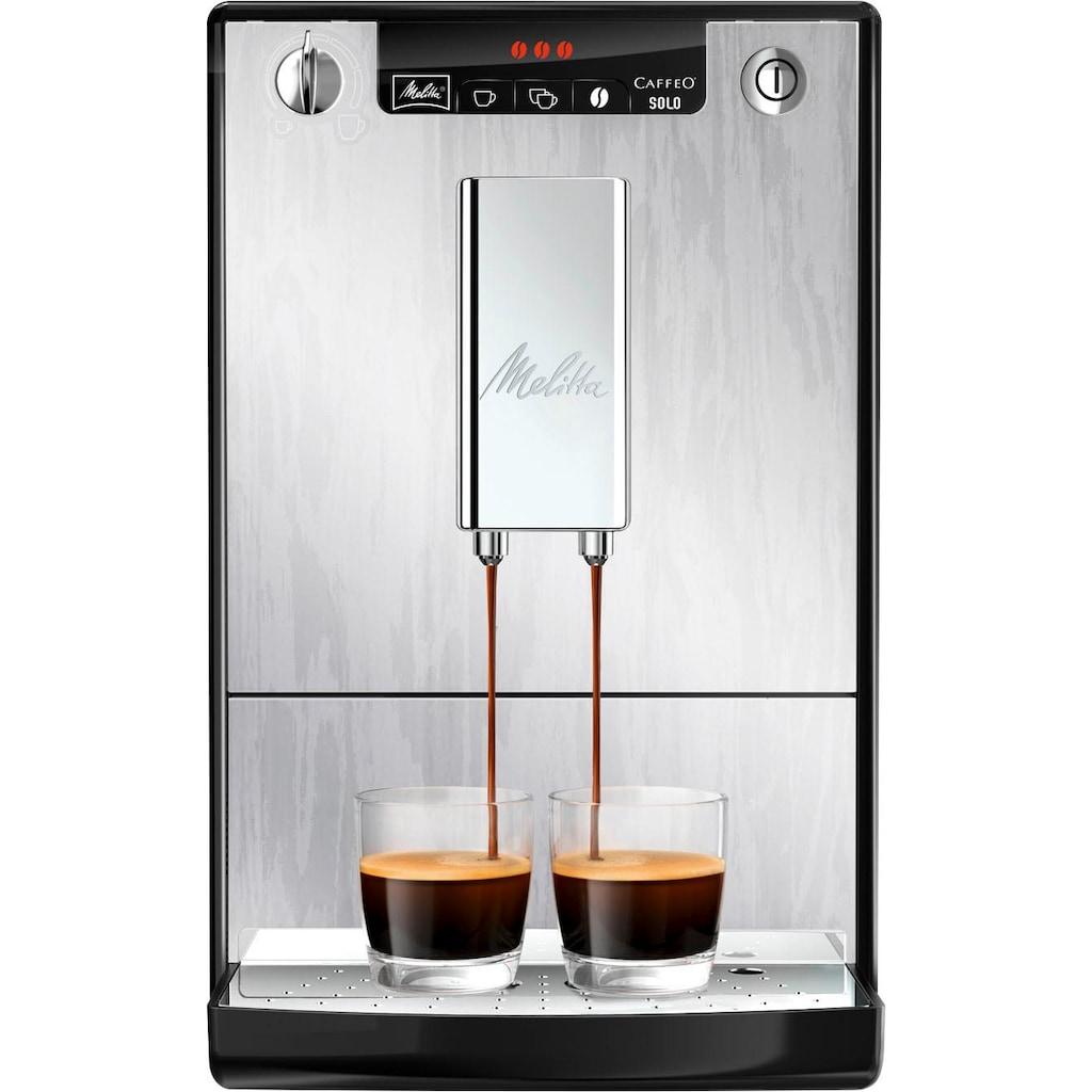 Melitta Kaffeevollautomat »Solo Organic Silver E 950-111«