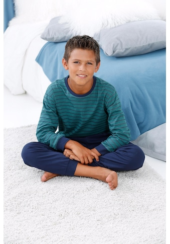le jogger® Pyjama, mit gestreiftem Oberteil kaufen