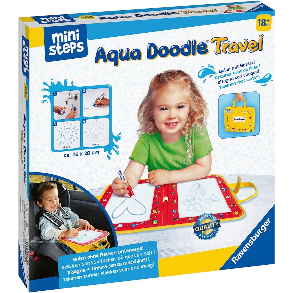 Ravensburger Kreativset »ministeps® Aqua Doodle® Travel«, Made in Europe