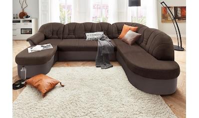 DOMO collection Wohnlandschaft »Elva«, wahlweise mit Bettfunktion und Federkern kaufen