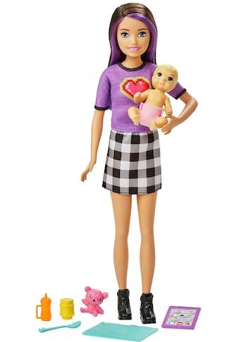 Barbie Anziehpuppe »Skipper Babysitters Inc. Skipper & Baby Puppe«, inklusive Zubehör kaufen