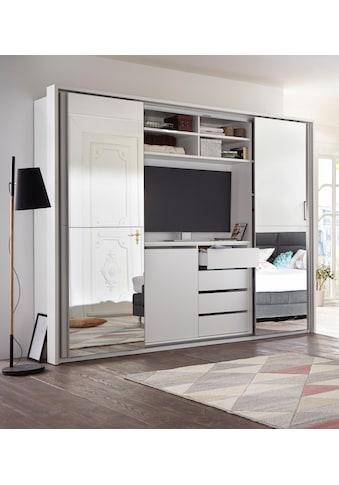 Schlafkontor Schwebetürenschrank, mit TV-Fach und Spiegel kaufen
