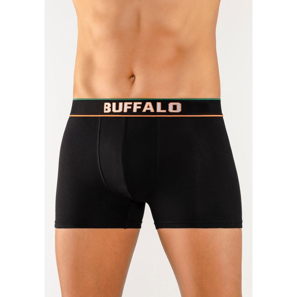 Buffalo Boxer, (3 St.), Webbund im College Design