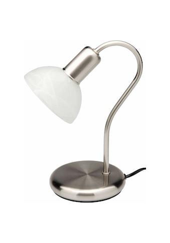 Brilliant Leuchten Tischleuchte, E14, Pearl Tischleuchte eisen/weiß-alabaster kaufen