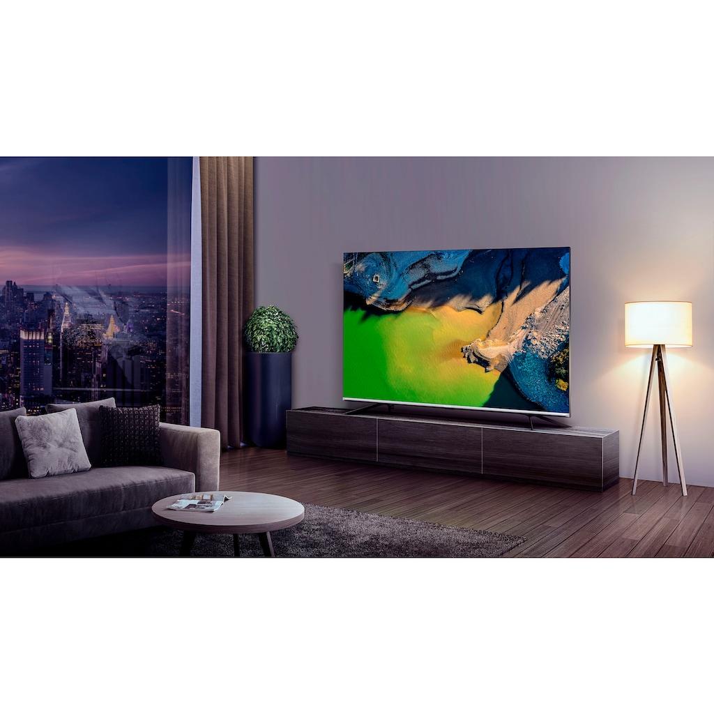 """Hisense QLED-Fernseher »55E76GQ«, 139 cm/55 """", 4K Ultra HD, Smart-TV, Quantum Dot, Dolby Vision & Atmos, USB Recording"""
