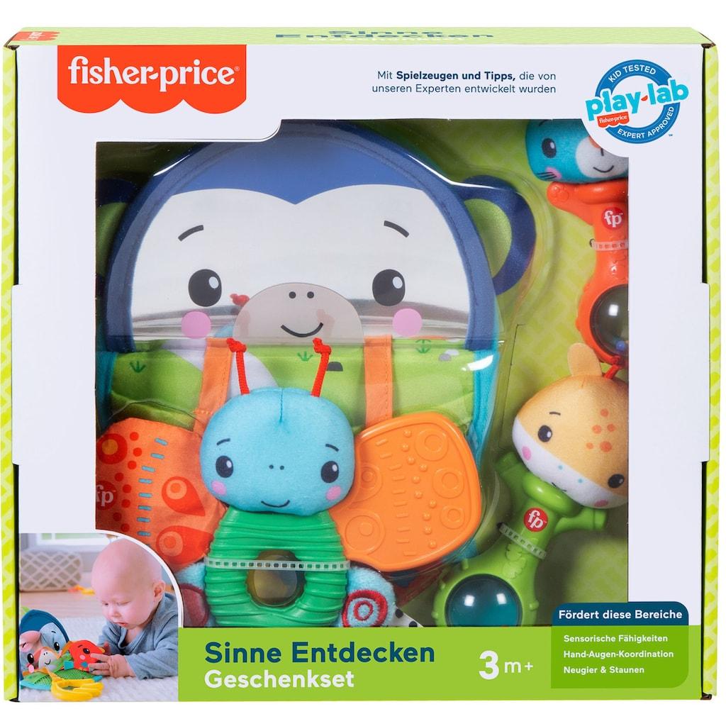 Fisher-Price® Greifspielzeug »Sinne Entdecken Geschenkset«