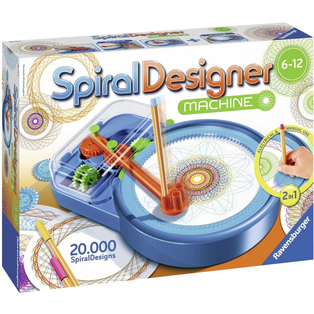 Ravensburger Malvorlage »Spiral Designer Maschine«, Made in Europe, FSC® - schützt Wald - weltweit