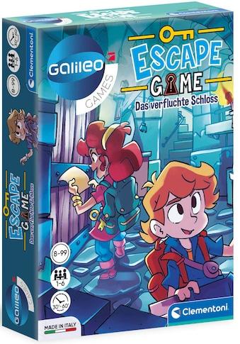 Clementoni® Spiel »Galileo Escape Game - Das verfluchte Schloss«, Made in Europe, FSC®... kaufen