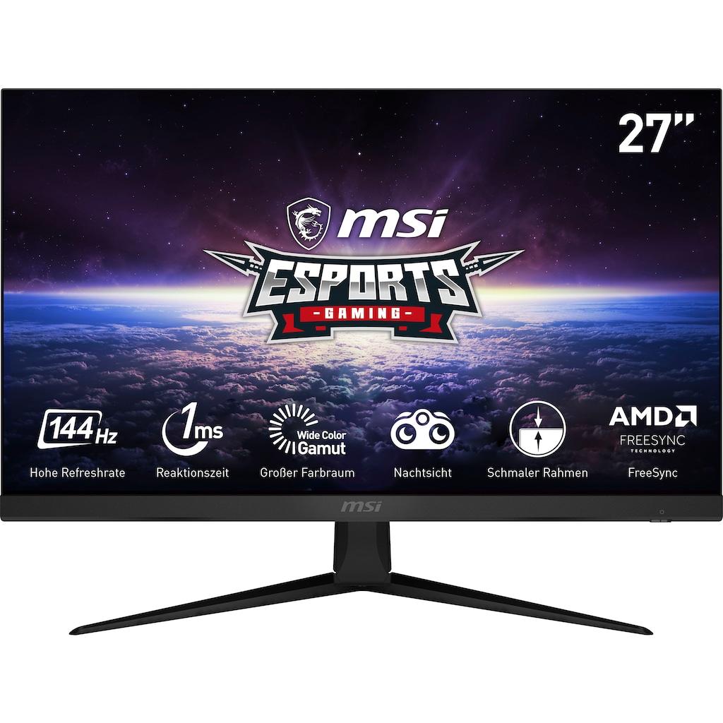 """MSI Gaming-Monitor »Optix G271«, 69 cm/27 """", 1920 x 1080 px, Full HD, 1 ms Reaktionszeit, 144 Hz, 3 Jahre Herstellergarantie"""