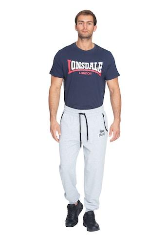 Lonsdale Jogginghose in sportlichem Design »LION TWO TONES« kaufen