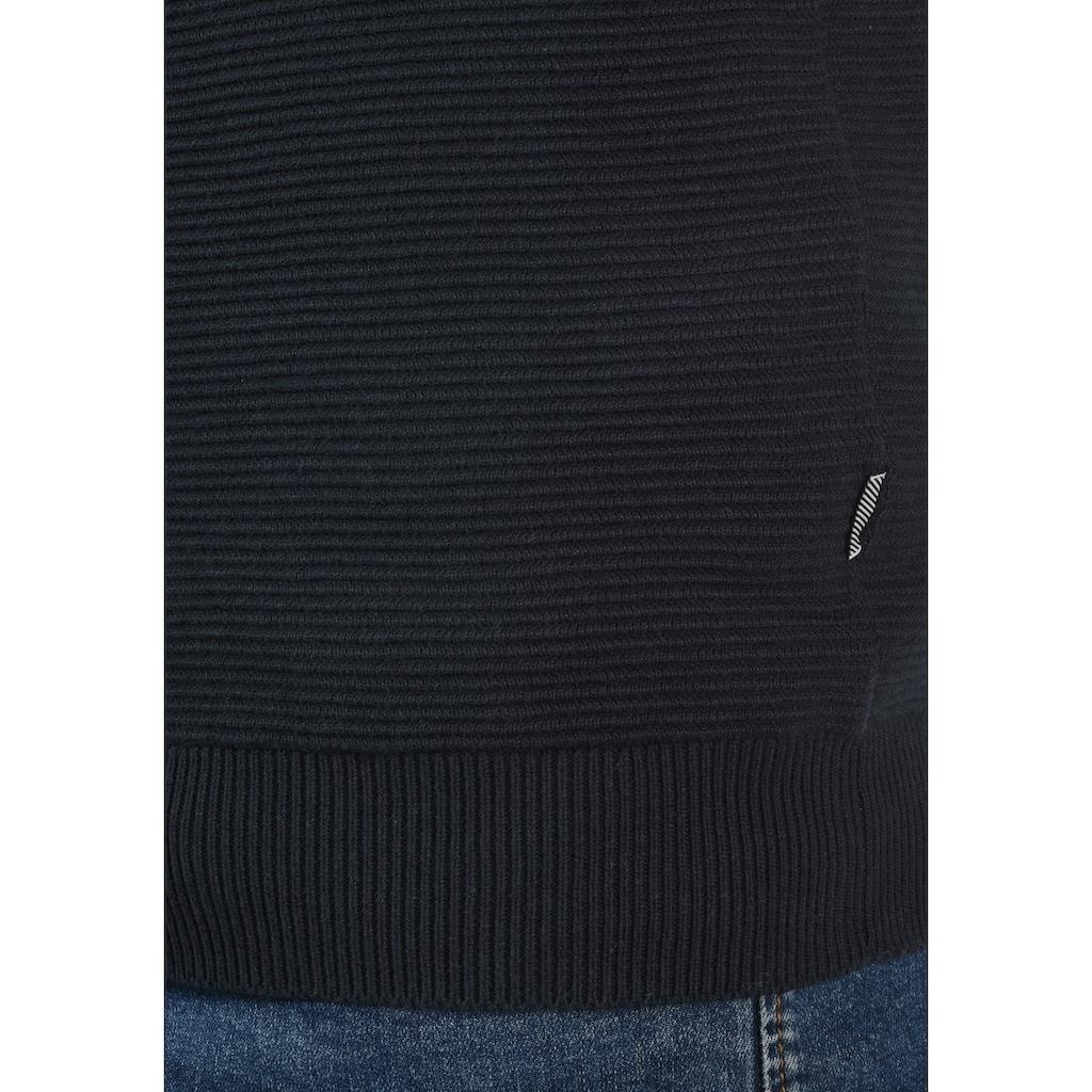 Solid Cardigan »Cezar«, Strickjacke aus Feinstrick