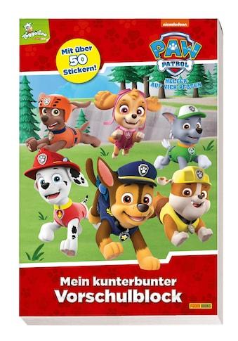 Buch PAW Patrol: Mein kunterbunter Vorschulblock / Panini kaufen