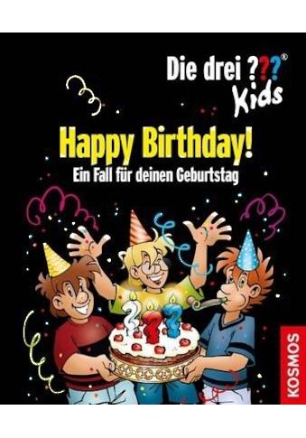 Buch Die drei ??? Kids, Happy Birthday! / Boris Pfeiffer kaufen