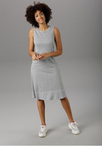 Aniston SELECTED Sommerkleid, mit modischer Bordüre - NEUE KOLLEKTION kaufen