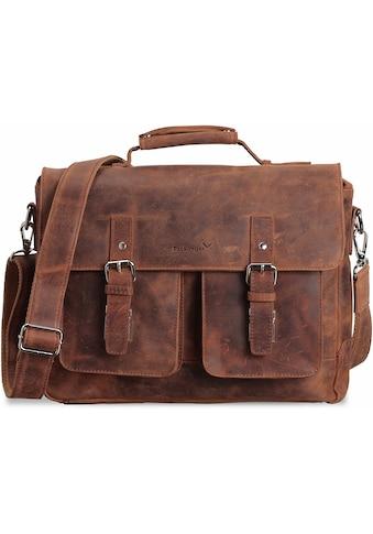 Packenger Umhängetasche »Kolbjorn, cognac«, mit 14-Zoll Laptopfach kaufen