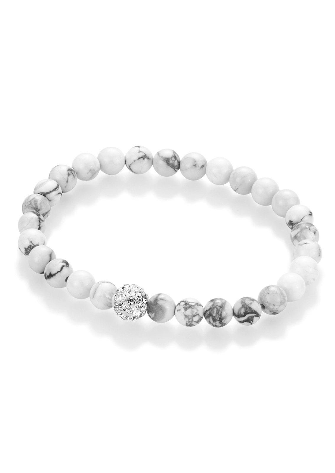 Armband »Perlen aus Howlith«