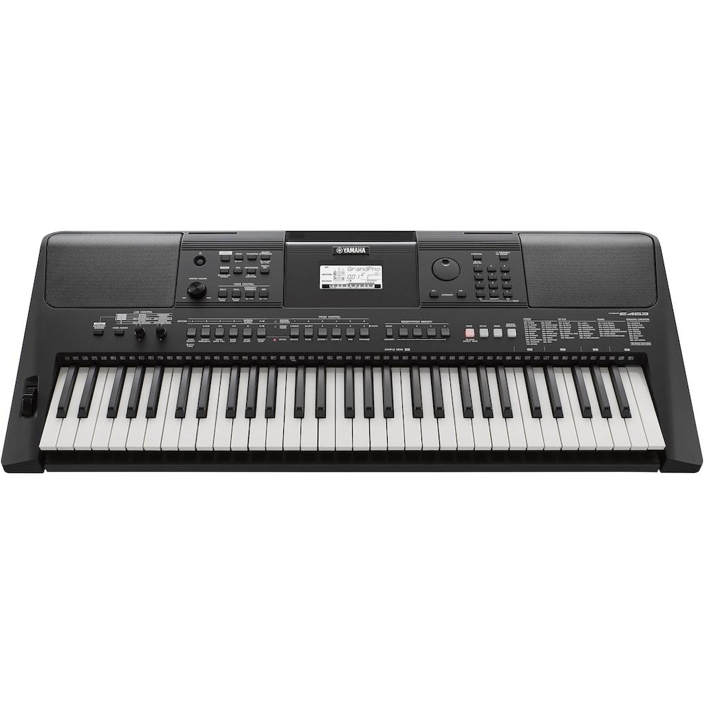 Yamaha Keyboard »PSR-E463«, mit USB Audio Recorder