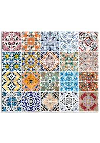 Artland Küchenrückwand »Gemusterte Keramikfliesen«, selbstklebend in vielen Größen -... kaufen