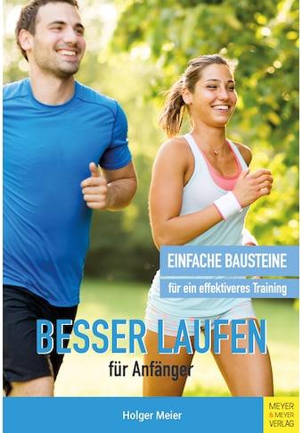 Buch »Besser laufen für Anfänger / Holger Meier« kaufen