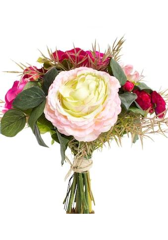 Botanic-Haus Kunstblume »Anemonen-Ranunkel-Strauß« kaufen