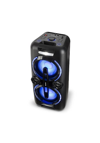 Auna Bazzter Party - Audiosystem 2 x 50W RMS Akku BT USB MP3 AUX U »Bazzter« kaufen