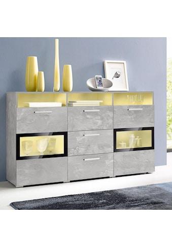 TRENDMANUFAKTUR Sideboard »Sarahmix«, Breite 136,5 cm kaufen