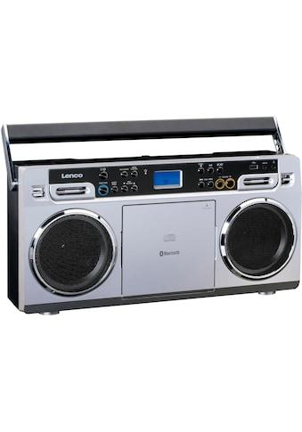 Lenco CD-Radiorecorder »SCD-580«, (Bluetooth FM-Tuner) kaufen