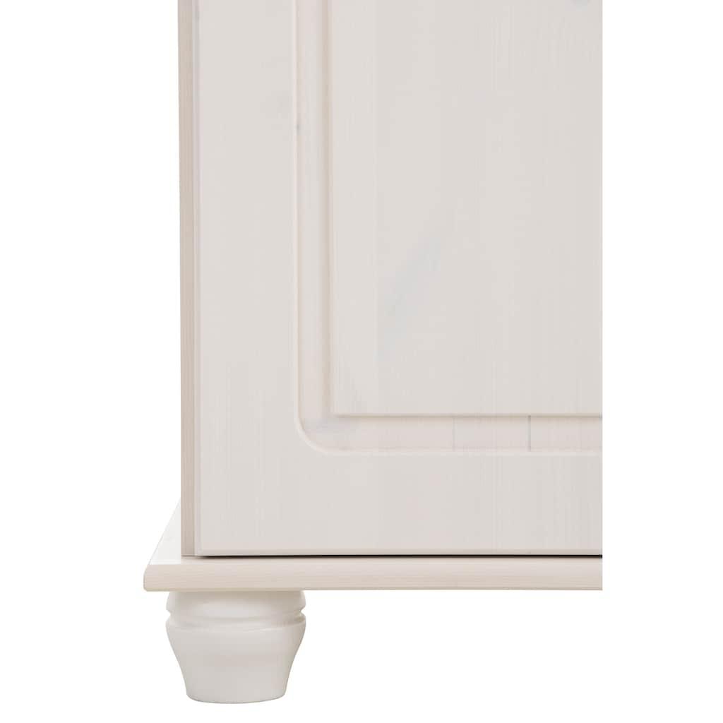 Home affaire Kompaktgarderobe »Finca«, aus massivem Kiefernholz, mit vielen Stauraummöglichkeiten