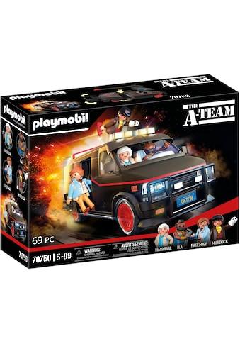 Playmobil® Konstruktions-Spielset »A-Team Van (70750)«, (69 St.), Made in Europe kaufen