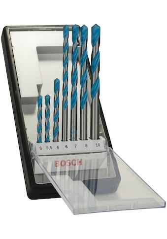 BOSCH Bohrersatz »Robust Line CYL-9 Multi Construction«, (7 tlg.), Mehrzweckbohrer-Set kaufen