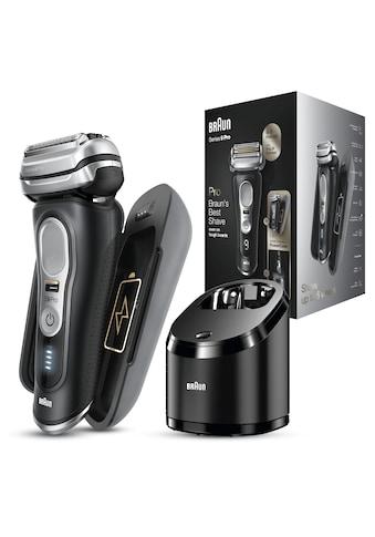 Braun Elektrorasierer »Series 9 Pro - 9470cc«, Reinigungsstation, 1 St. Aufsätze kaufen