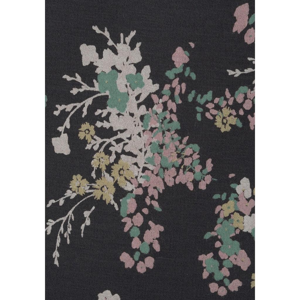 LASCANA Spaghettitop, (2er-Pack), mit schönem Blumen-Druck