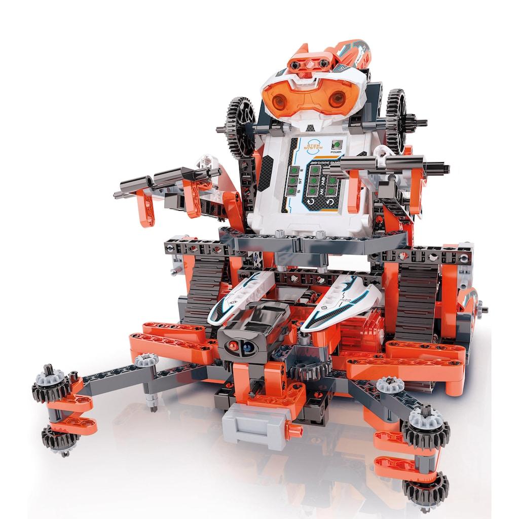 Clementoni® Modellbausatz »Galileo - Construction Challenge Robomaker«, Made in Europe