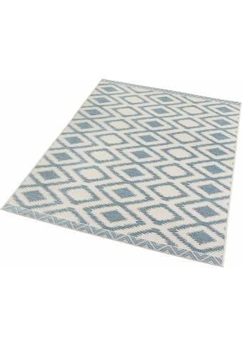 bougari Teppich »Isle«, rechteckig, 4 mm Höhe, Flachgewebe, In- und Outdoor geeignet,... kaufen