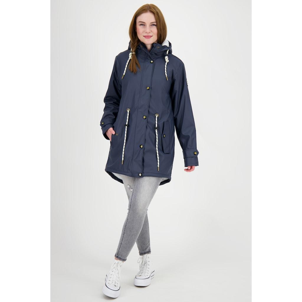 DEPROC Active Regenmantel »Friesennerz HALIFAX NEW WOMEN«, auch in Großen Größen erhältlich