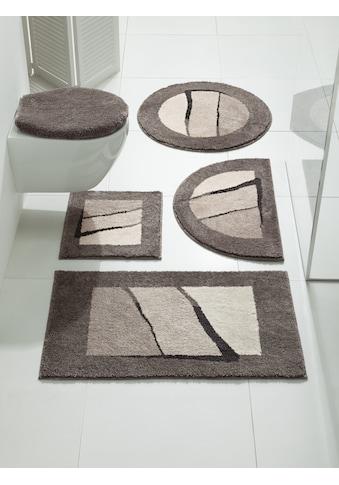 Badgarnitur Tegge mit modernen Streifen kaufen