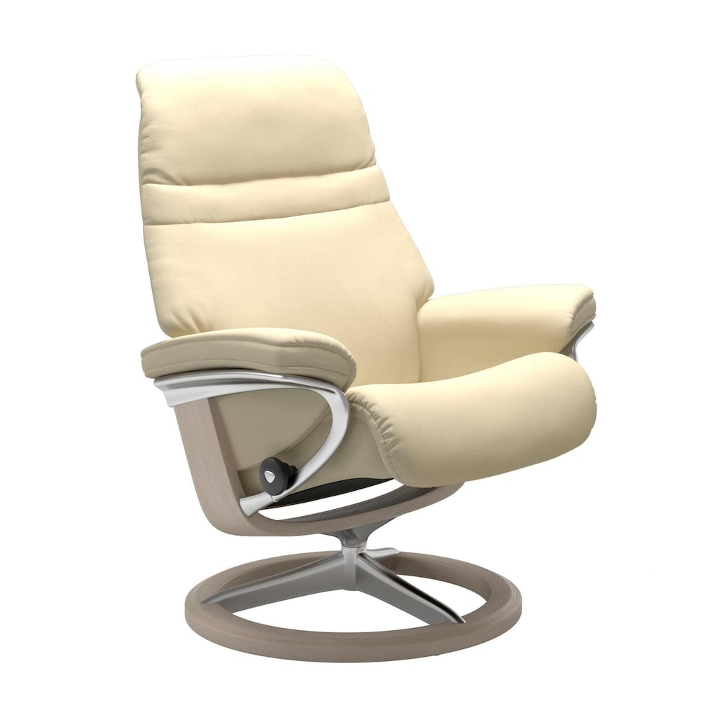 Stressless® Relaxsessel »Sunrise«, mit Signature Base, Größe S, Gestell Whitewash