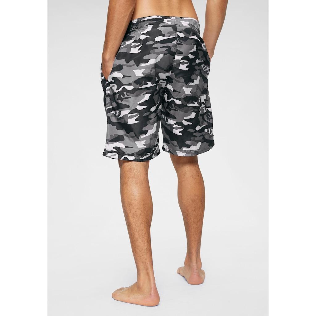 Lonsdale Boardshorts »LOTHORP«, Taillenbund mit seitlichen Gummizügen