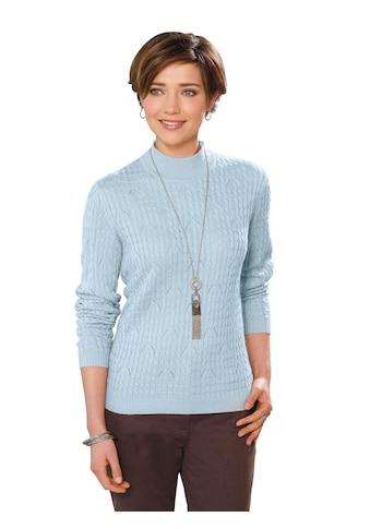 Casual Looks Pullover mi Strickmuster kaufen