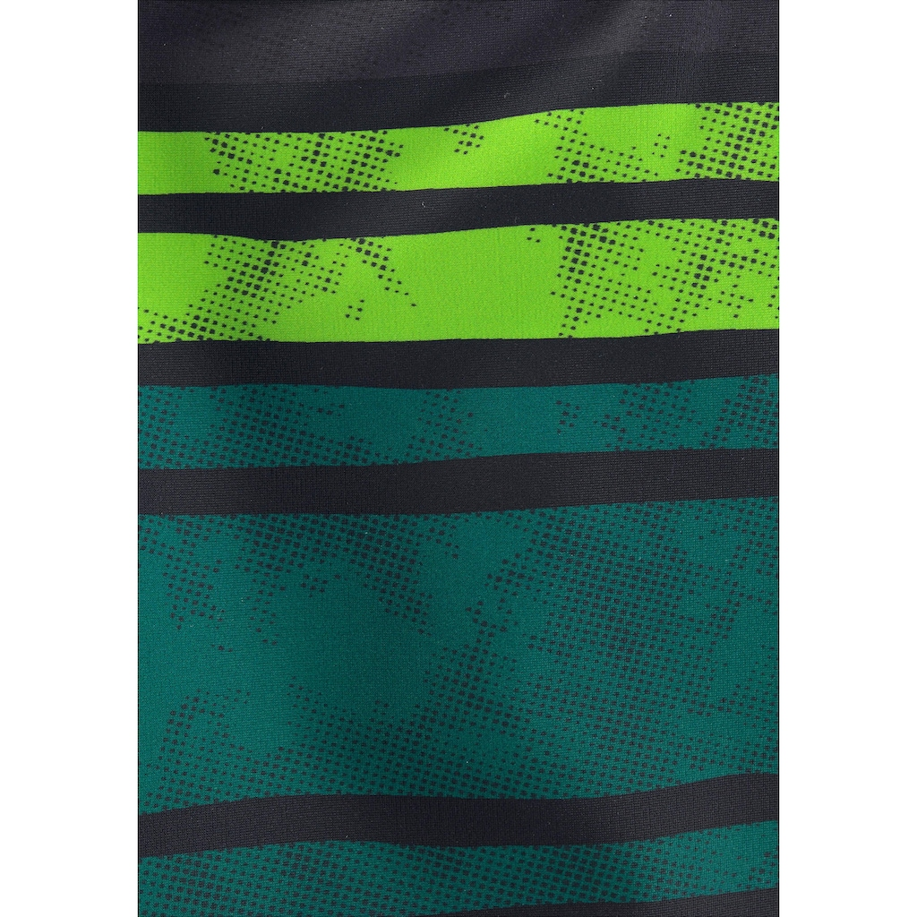 Chiemsee Boxer-Badehose, im Streifendesign